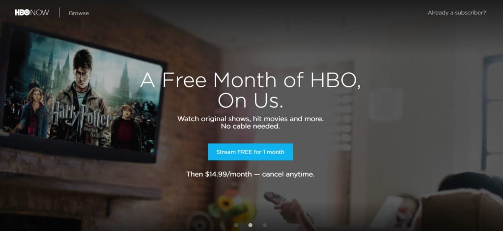 HBO free movie streaming